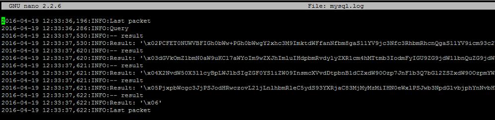 mysqlnd PHP wrapper read