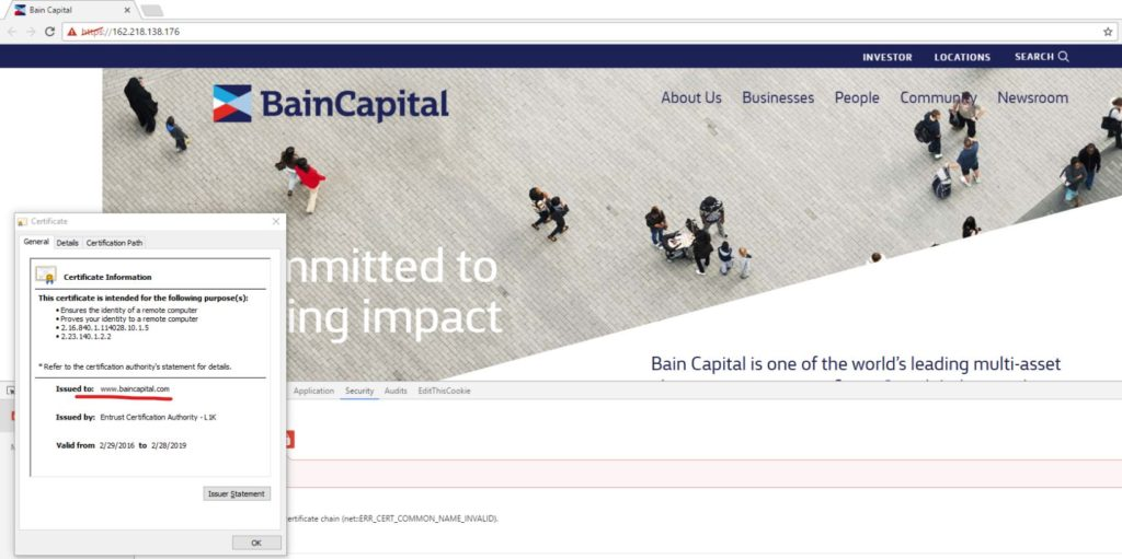 Bain Capital uncloaked IP